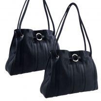 GiGi Leather Ladies 3 Section Shoulder Handbag Juliet Collection