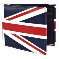 Golunski Mens Quality Leather Wallet Union Jack Flag Retro Range Gift Boxed
