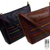 Ladies Leather Tote/Work Bag by Ili New York