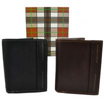 Mala Leather Mens Compact Shirt Wallet Neo Collection in Black or Brown