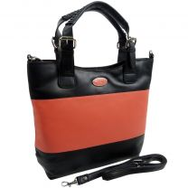 Ladies Luxury Leather Grab/Shoulder Bag From ECLORE Paris