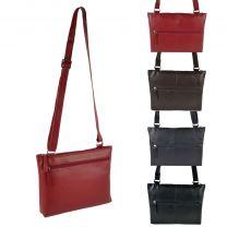 Ladies Soft Leather Shoulder Handbag By UK Designer Richard Kinsey Stylish