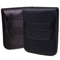 Mens Gents Leather Change Holder Slim By Golunski Flap Over In 2 Colours