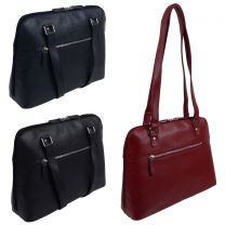 Rowallan of Scotland Leather Ladies Shoulder Bag - Iceland Collection