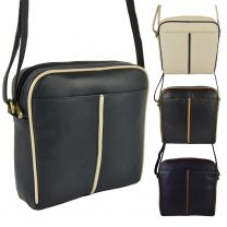 Ladies Leather Compact Cross Body BAG by GiGi Othello Collection Handbag