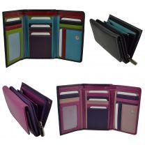 Ladies Real Leather Medium Purse/Wallet By Golunski Gift Womens Handy Multi