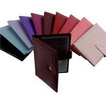 Mens Ladies Leather Passport Holder Document Travel Wallet by Golunski