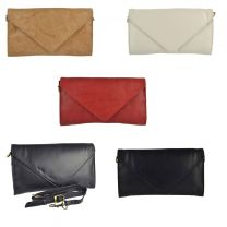 GiGi Leather Ladies Leather Envelope Clutch Handbag
