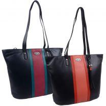 Ladies Luxury Leather Shoulder Bag From Eclore Paris