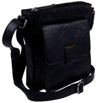 Rowallan of Scotland Leather Small Zip Top Cross Body Bag Espana Collection