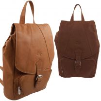Ladies Soft Leather Gigi Backpack Evening Day Casual Travel Uni