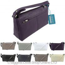 Ladies Small Soft Leather Shoulder Bag by Nova Leathers Handbag Classic Design