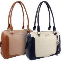 Ladies Luxury Leather Shoulder Bag From ECLORE Paris