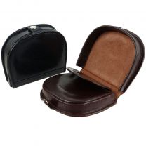 Mens Quality Gents Leather Coin Tray/Purse by Mala Leather Change