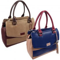 Ladies Luxury Leather Shoulder/Grab Bag By ECLORE Paris
