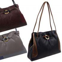 Ladies Classic Leather Versatile Shoulder Handbag by GiGi Autumn/Winter