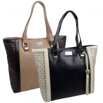 Ladies Luxury Leather Handbag Grab Bag From ECLORE Paris