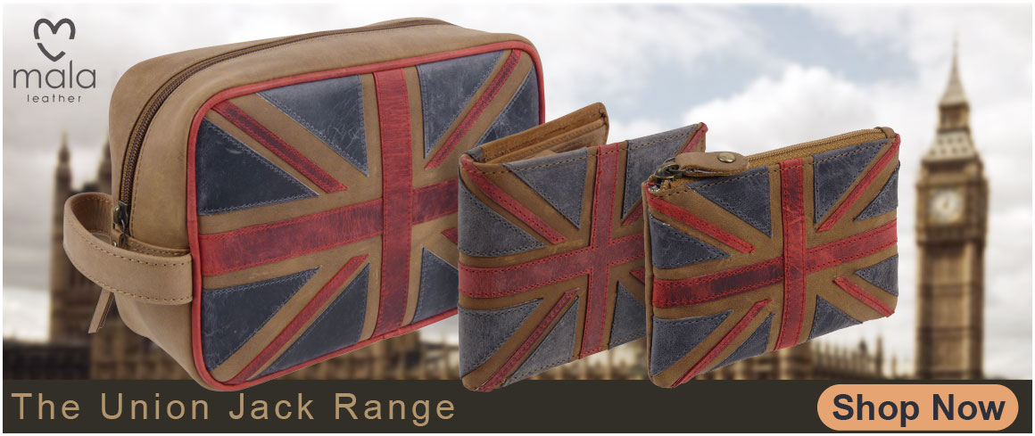 Mala Leather Union Jack Range